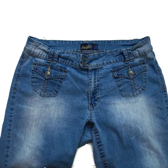 c9f202b80f4d2 Angels Denim - Angels Capri Jeans Plus Size 20